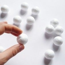 Пенопластовый шарик 3 см