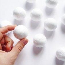 Пенопластовый шарик 4 см