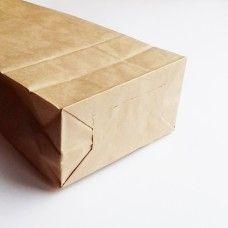 Крафт-пакет с широким дном