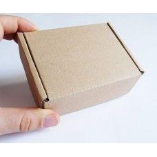 Маленькая крафт коробка