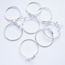 Серьги кольца 25 мм