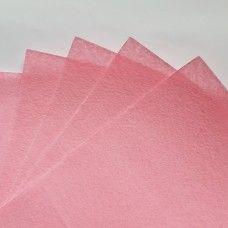Фетр светло розовый 1 мм