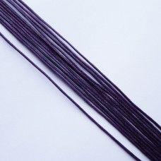 Вощеный шнур фиолетовый 1 мм