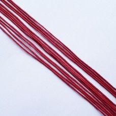 Вощеный шнур красный 1 мм