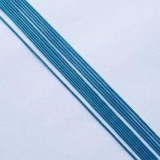 Вощеный шнур бирюзовый 1 мм